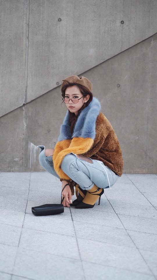 Seoul Fashion Week ngày 4: Châu Bùi và Min cứ xinh chất thế này thì fashionista Hàn có là gì! - Ảnh 11.