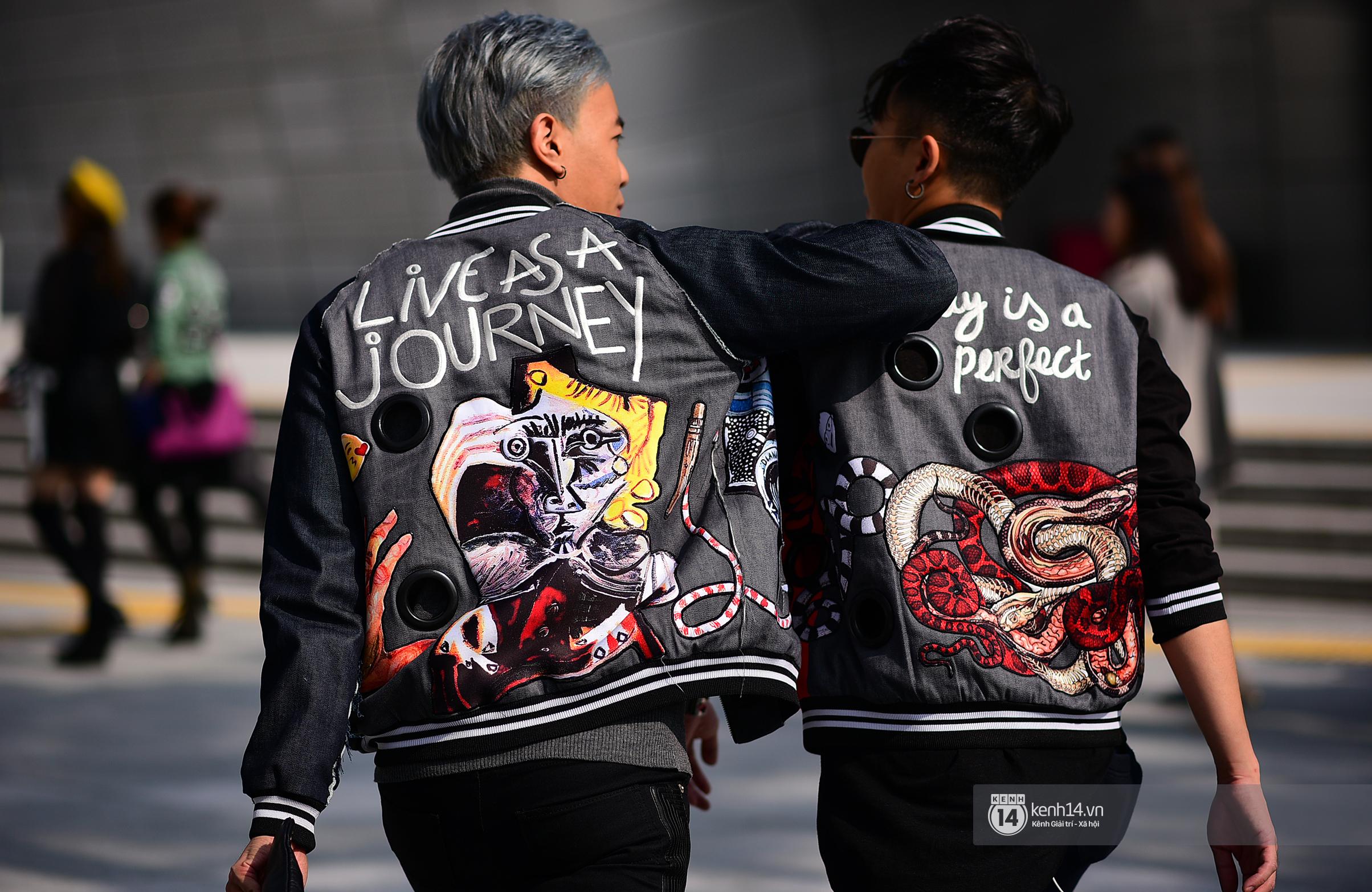 Châu Bùi & Cao Minh Thắng ton-sur-ton, Min diện quần một mất một còn tại Seoul Fashion Week ngày 3 - Ảnh 7.