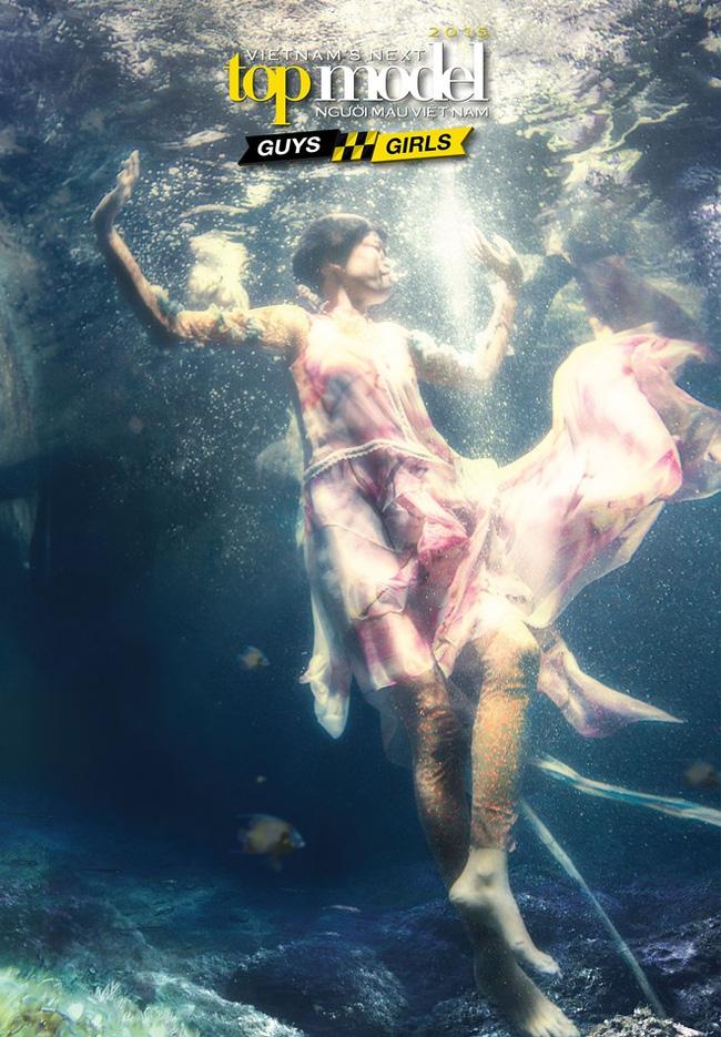 Next Top Model: Không phải cứ chụp ảnh dưới nước là trở thành thảm họa như ở Việt Nam! - Ảnh 1.