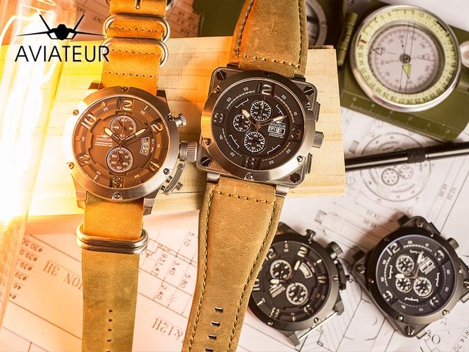 Đồng hồ giá rẻ mà cực chất cho những người yêu thích phi cơ - Ảnh 2.