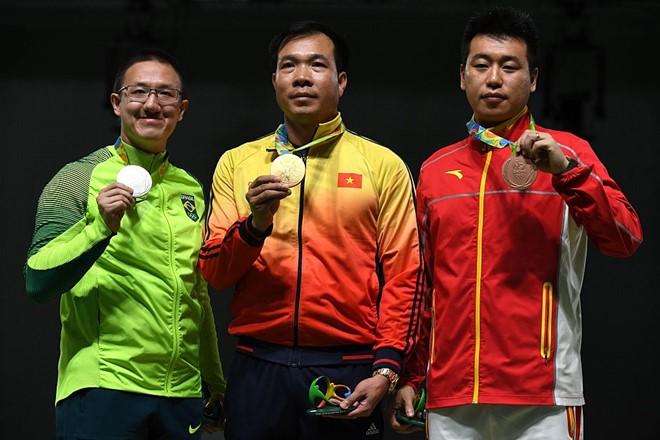 Xạ thủ Hoàng Xuân Vinh trở thành VĐV đầu tiên trong lịch sử Việt Nam giành HCV Olympic - Ảnh 5.