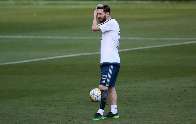 Ý nghĩa những hình xăm trên cơ thể Messi - Ảnh 1.