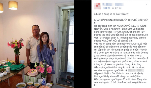 Cô gái xinh đẹp mất tích bí ẩn sau tai nạn: Xuất hiện lần cuối tại một khách sạn ở Vũng Tàu? - Ảnh 1.