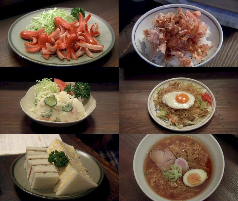Bộ phim giới thiệu những món ăn giản dị, quen thuộc trong cuộc sống của người Nhật
