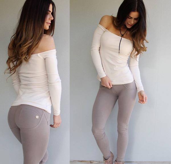 Phái đẹp đổ xô đi mua quần legging giúp nâng đỡ và làm căng tròn vòng 3 - Ảnh 14.