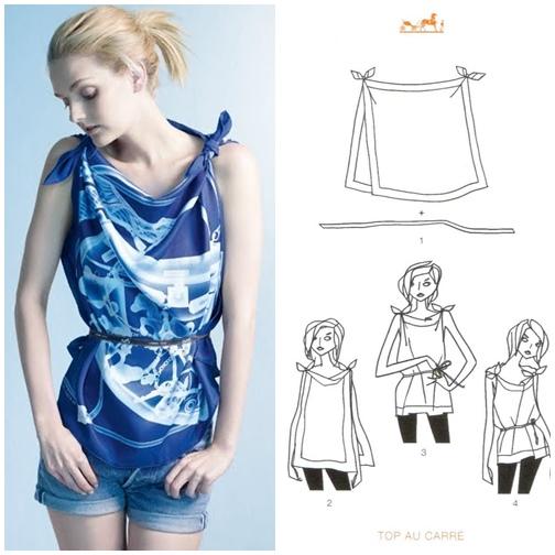 Phục sát đất tài biến khăn thành váy áo của sao Việt - Ảnh 15.