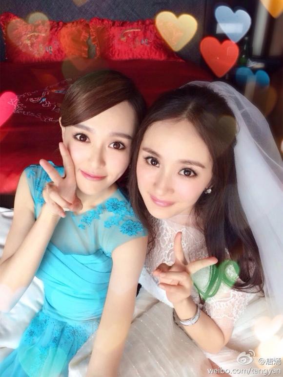 Đường Yên hạnh phúc kể về bạn trai, Dương Mịch cũng chúc mừng bạn thân - Ảnh 3.
