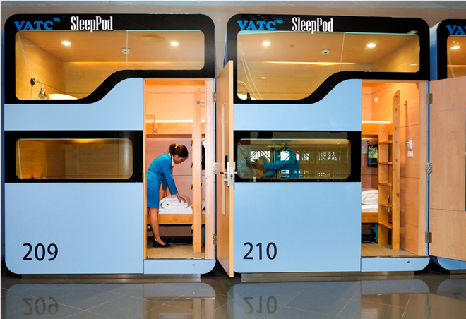 Trải nghiệm miễn phí dịch vụ hộp ngủ ngay tại sân bay Nội Bài - Ảnh 3.