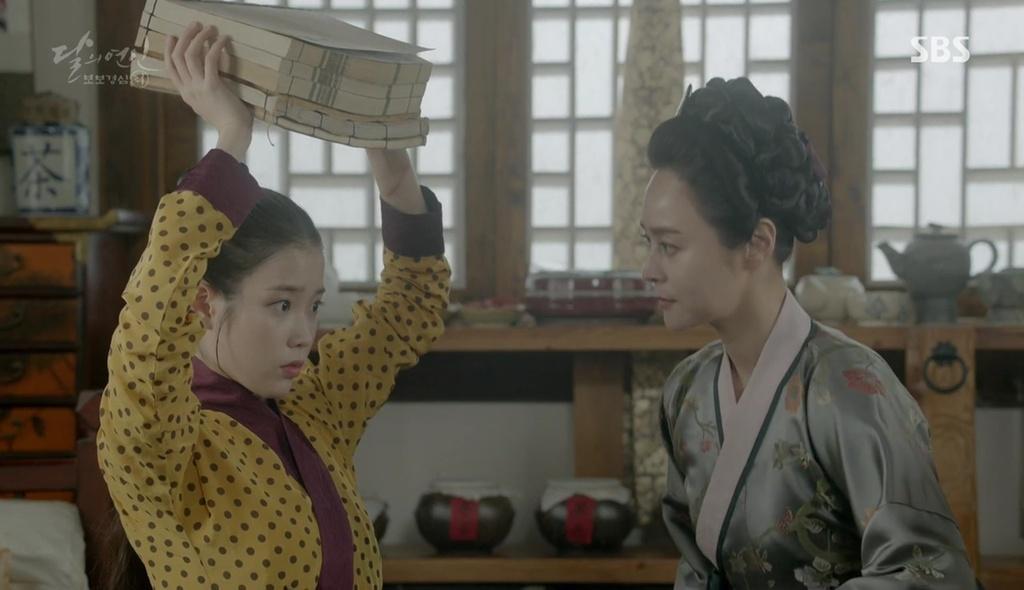 Moon Lovers: Thượng cung Oh cuối cùng đã có thể bảo vệ được đứa trẻ của mình - Ảnh 3.