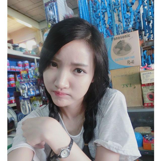 Không thua gì Hàn Quốc, Thái Lan, Lào cũng có đầy hot girl xinh đẹp - Ảnh 8.