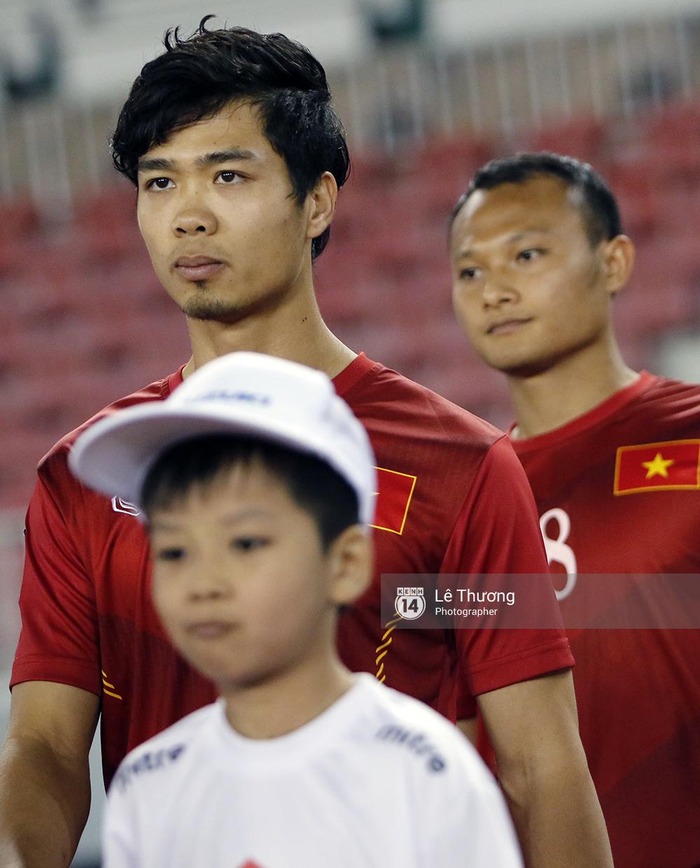 16 phút của Công Phượng và 83 phút kiên cường của đội tuyển Việt Nam -