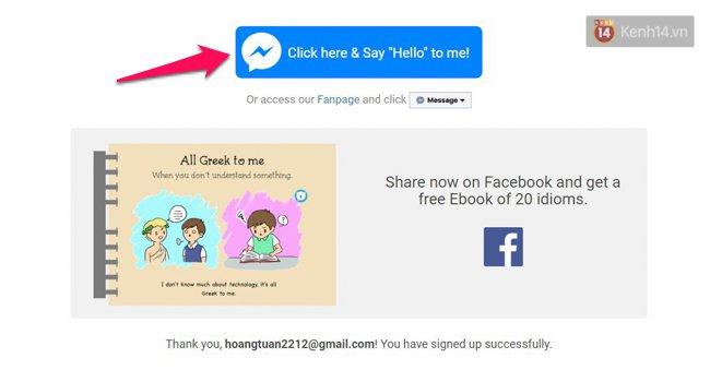 Học tiếng Anh dễ như ăn kẹo ngay trên Facebook Messenger, bạn phải thử ngay - Ảnh 3.