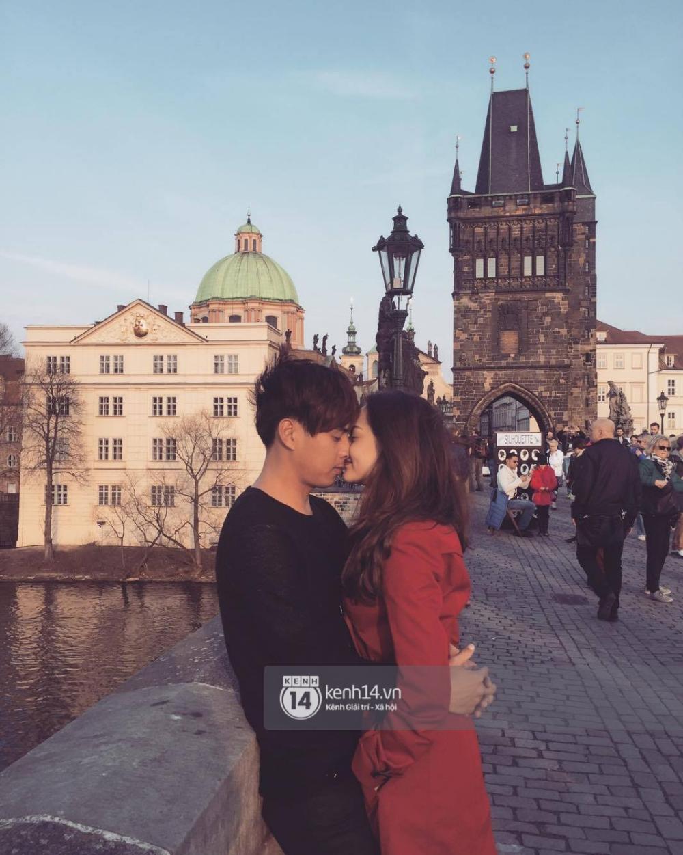 Độc quyền: Cặp đôi mới của Vbiz Hồ Quang Hiếu - Bảo Anh tiết lộ những hình ảnh hôn nhau đi khắp thế gian - Ảnh 4.