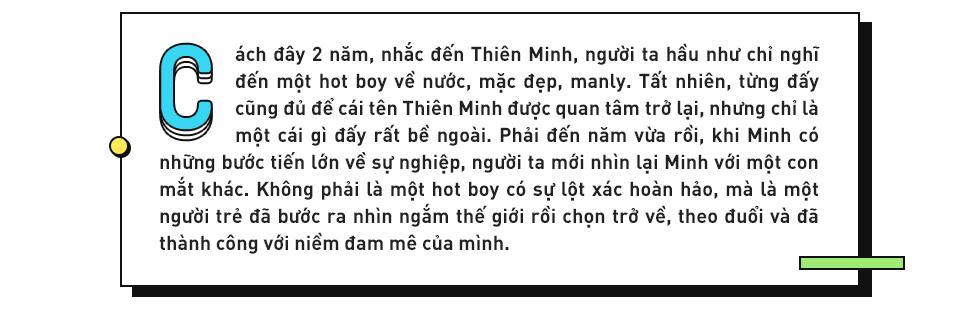 Đằng sau sự lột xác của Thiên Minh: Hành trình bỏ làm hot boy, sang Mỹ lăn lộn kiếm tiền tự lập - Ảnh 1.