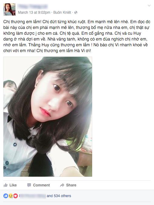 Nữ sinh lớp 10 bị cưa chân vì bệnh viện tắc trách: Mẹ ơi đừng lo, con vẫn còn một chân đây... - Ảnh 2.