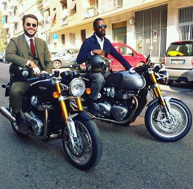 Mặc suit đi motor: Một phong cách vừa ngầu lại vừa lịch của các chàng - Ảnh 12.
