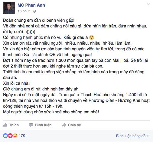MC Phan Anh: Có những hạnh phúc mà nó cứ vui kiểu gì đâu á! - Ảnh 2.