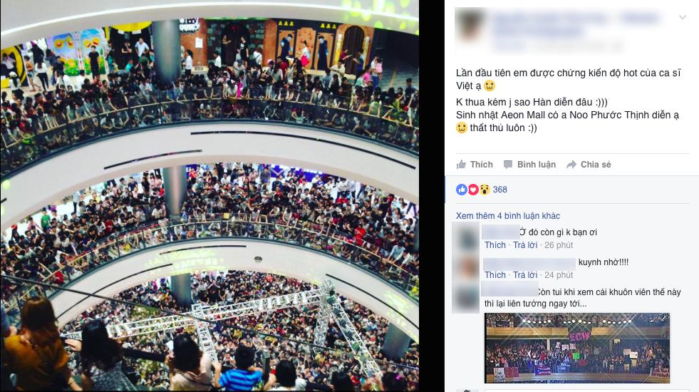 Không cần đến sao Hàn, Noo Phước Thịnh cũng đủ khiến Aeon Mall thất thủ - Ảnh 3.