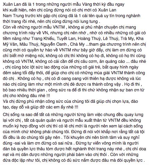 Nhiều mẫu Việt như trút được ruột gan, ủng hộ nhiệt tình status tố cáo của NTK Đỗ Mạnh Cường - Ảnh 2.