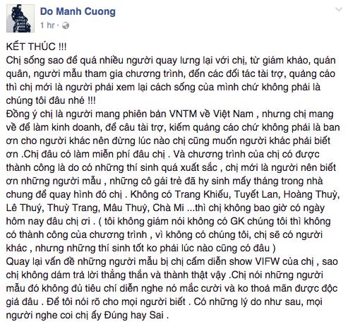 VNTM nhận công giúp mẫu diễn show quốc tế, Kha Mỹ Vân phủ nhận đó chỉ là có tiếng mà không có miếng - Ảnh 1.