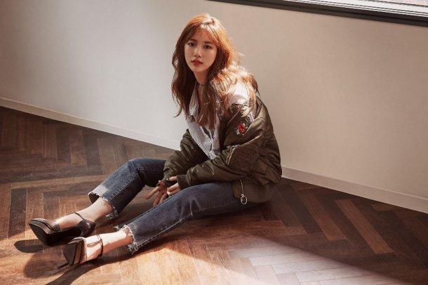 Suzy & Go Jun Hee - Những nữ thần thời trang của mùa thu này - Ảnh 1.