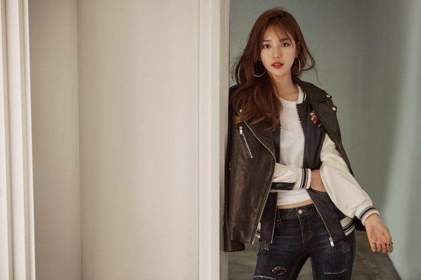 Suzy & Go Jun Hee - Những nữ thần thời trang của mùa thu này - Ảnh 2.