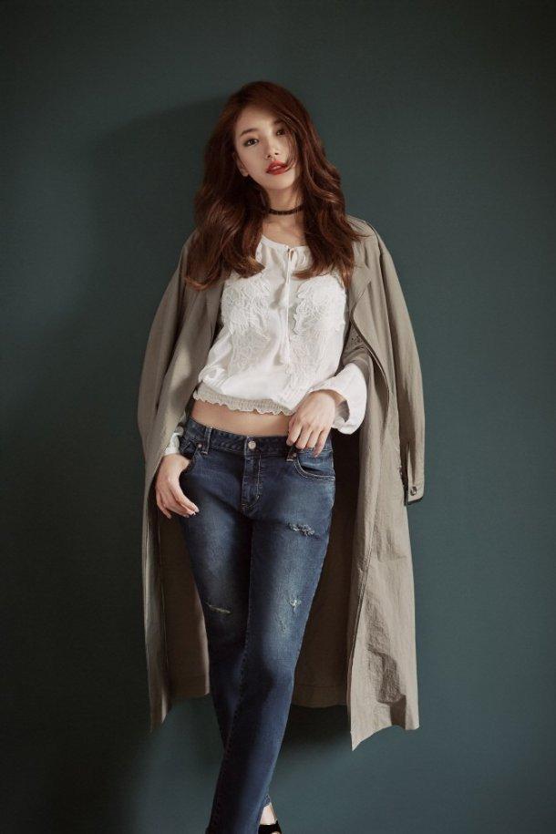 Suzy & Go Jun Hee - Những nữ thần thời trang của mùa thu này - Ảnh 7.