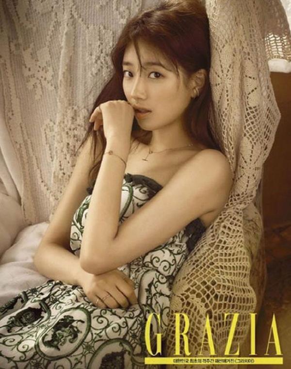 Suzy đã đủ độ chín để đọ độ gợi cảm với đàn chị trên tạp chí - Ảnh 3.