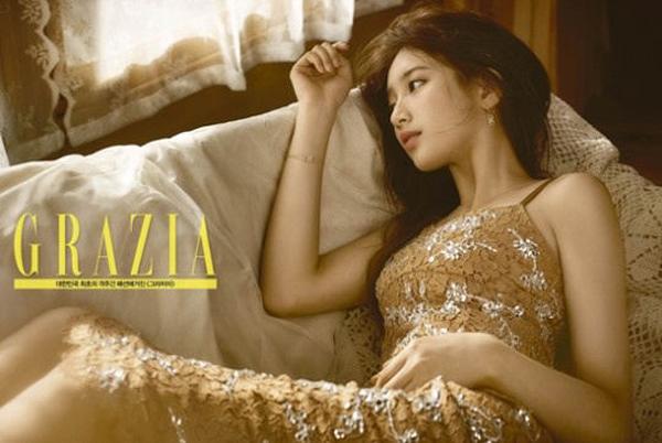 Suzy đã đủ độ chín để đọ độ gợi cảm với đàn chị trên tạp chí - Ảnh 6.