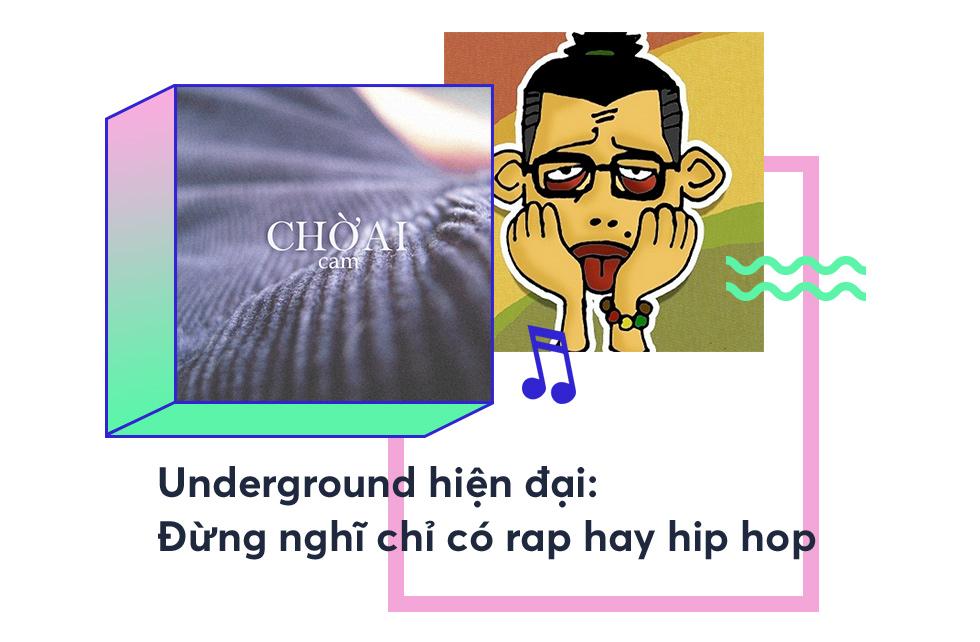 Nghệ sĩ Underground Việt: Thế giới của những người chơi với nhạc, chẳng cần phải giống ai! - Ảnh 1.