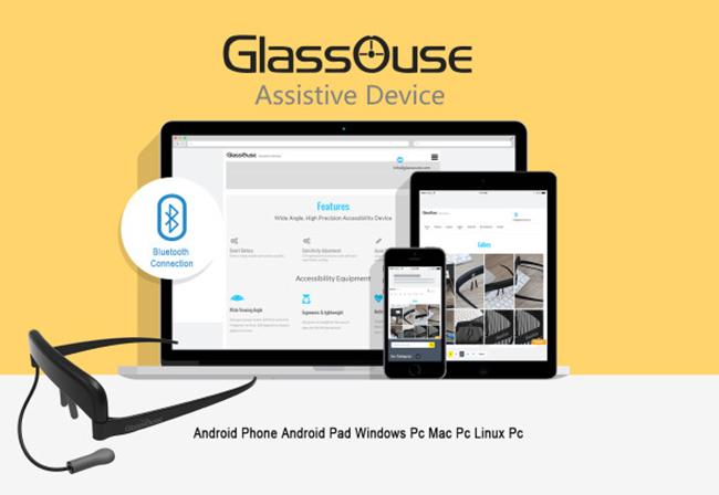 GlassOuse: chú chuột đeo mắt giúp người khuyết tật dùng máy tính chả có gì khó - Ảnh 2.
