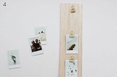 Làm khung ảnh treo tường đẹp và không thể dễ hơn chỉ với một tấm gỗ - Ảnh 6.
