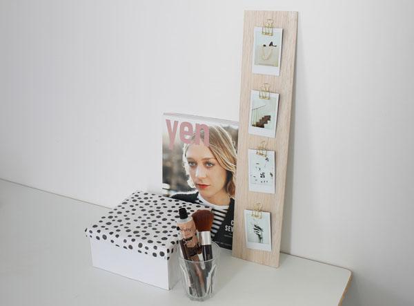 Làm khung ảnh treo tường đẹp và không thể dễ hơn chỉ với một tấm gỗ - Ảnh 7.