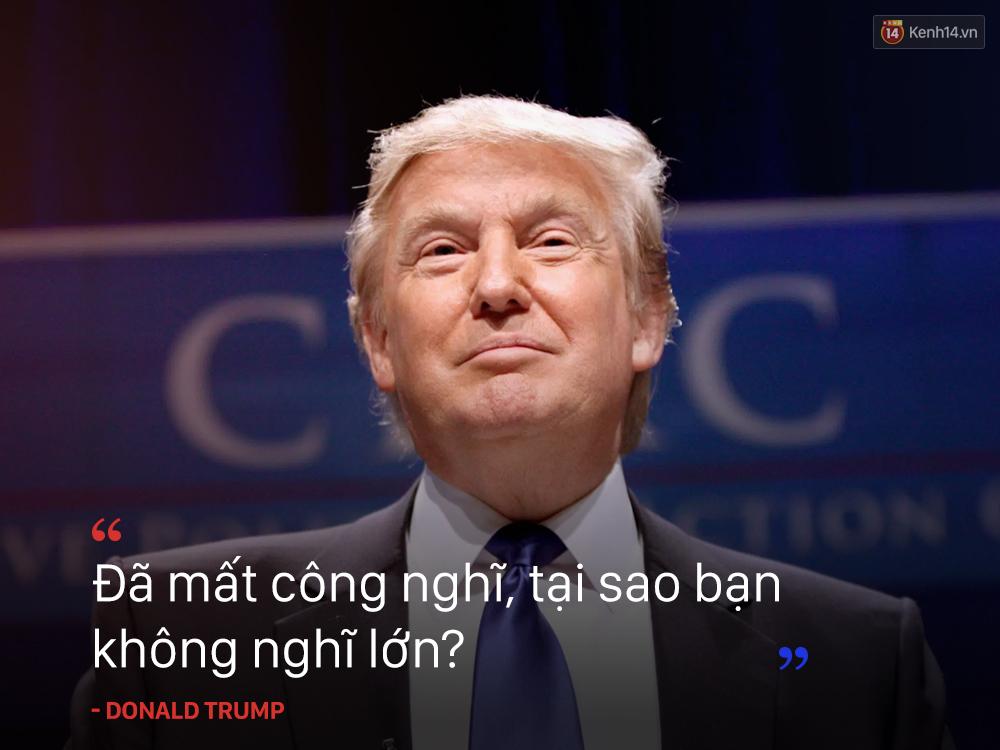Những câu nói nổi tiếng của Donald Trump