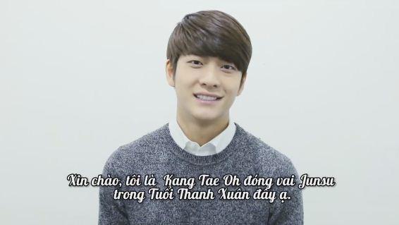 """Khởi quay """"Tuổi Thanh Xuân 2"""": Kang Tae Oh lẻ loi tại Hàn Quốc - Ảnh 7."""