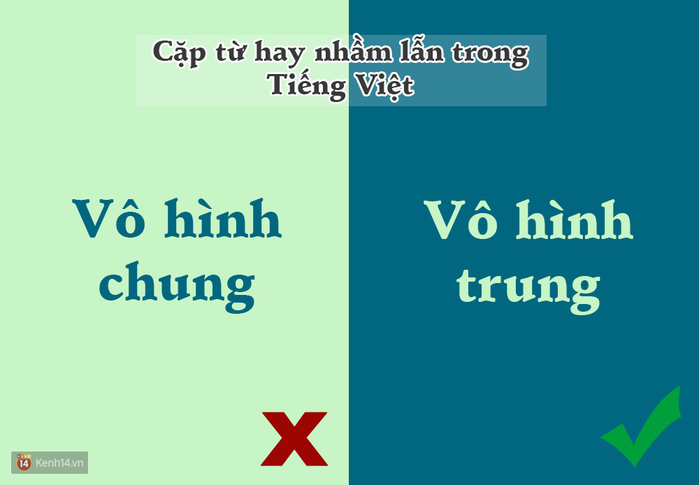 10 cặp từ ai cũng hay bị lẫn lộn trong Tiếng Việt - Ảnh 6.
