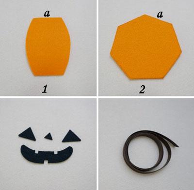 Làm giỏ bí ngô đựng kẹo tặng nhóc em dịp Halloween - Ảnh 2.