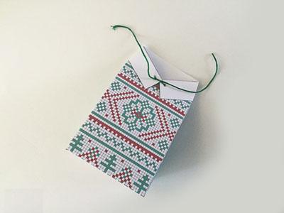 Ý tưởng gói quà Giáng Sinh siêu dễ thương dành cho người không khéo tay - Ảnh 9.