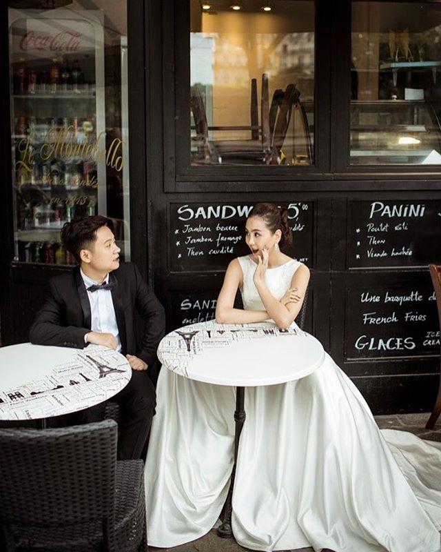 Ngắm trọn bộ 7 chiếc váy cưới, 4 bộ áo dài cùng loạt phụ kiện xa xỉ của cô gái thời tiết Mai Ngọc - Ảnh 9.