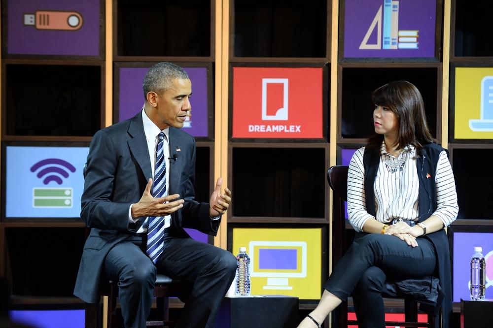 Ba gương mặt trẻ đối thoại với Obama là ai? - Ảnh 3.