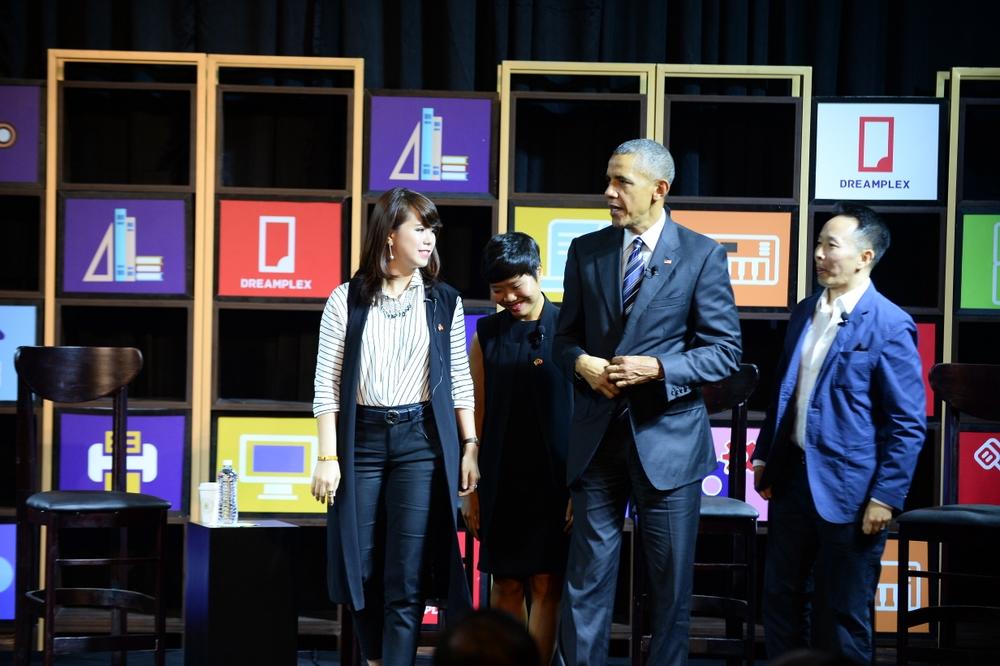 Ba gương mặt trẻ đối thoại với Obama là ai? - Ảnh 2.