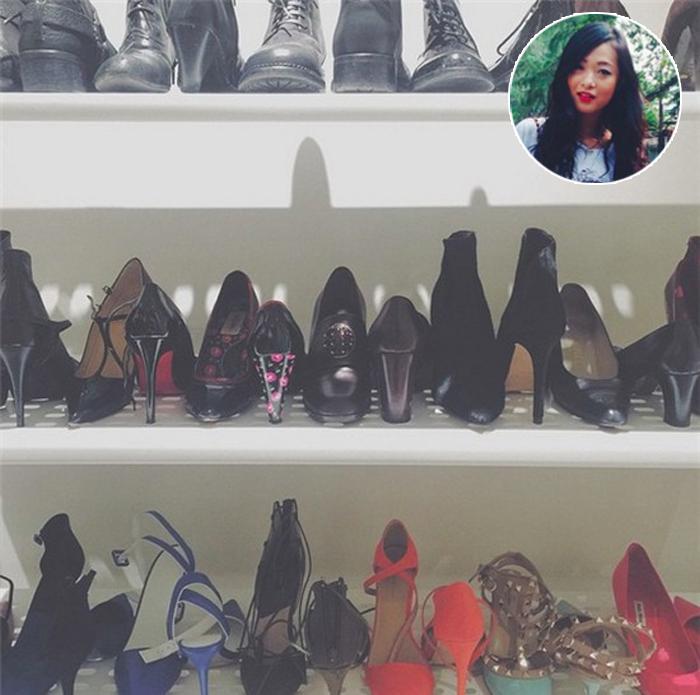 Tủ giày của sao & hot girl Việt: người thì như đại lý, kẻ to như... siêu thị! - Ảnh 21.