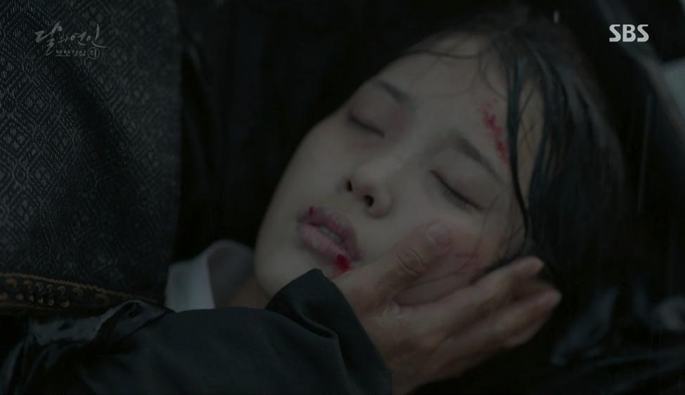 Moon Lovers: Thượng cung Oh cuối cùng đã có thể bảo vệ được đứa trẻ của mình - Ảnh 19.