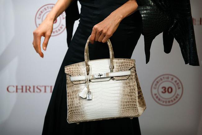 Hơn 8 tỷ đồng, Hermes Birkin da cá sấu bạch tạng trở thành chiếc túi đắt nhất thế giới! - Ảnh 1.