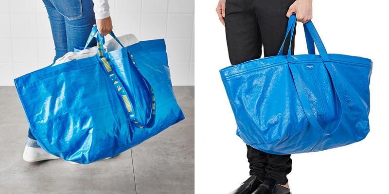 Túi 50 triệu của Balenciaga trông hệt như túi nhựa 2 chục nghìn được bán ở IKEA - Ảnh 2.