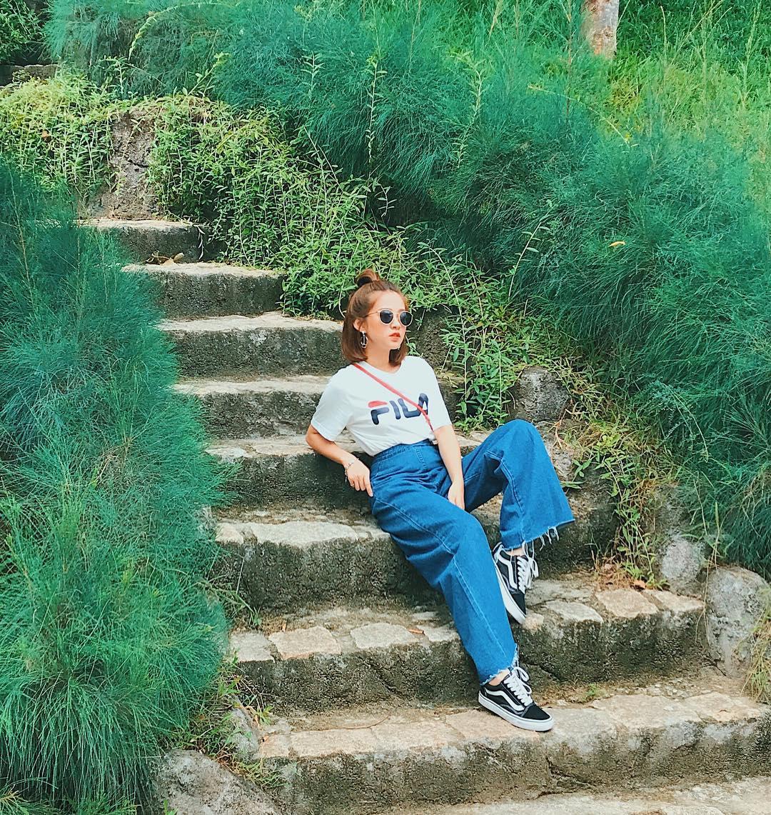 Giới trẻ châu Á người người nhà nhà đang diện T-shirt và sneaker Fila chất phát ngất ra sao? - Ảnh 15.