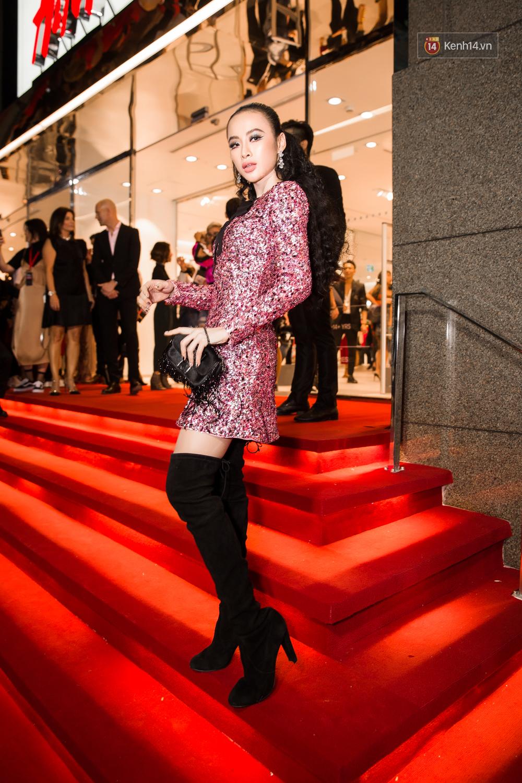 Angela Phương Trinh & Chi Pu quá đỗi sành điệu, công phá thảm đỏ sự kiện ra mắt H&M Việt Nam - Ảnh 2.