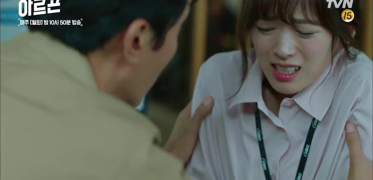 Bông hồng xứ Hàn bỗng... chửi thề ầm ầm trên sóng truyền hình - Ảnh 7.