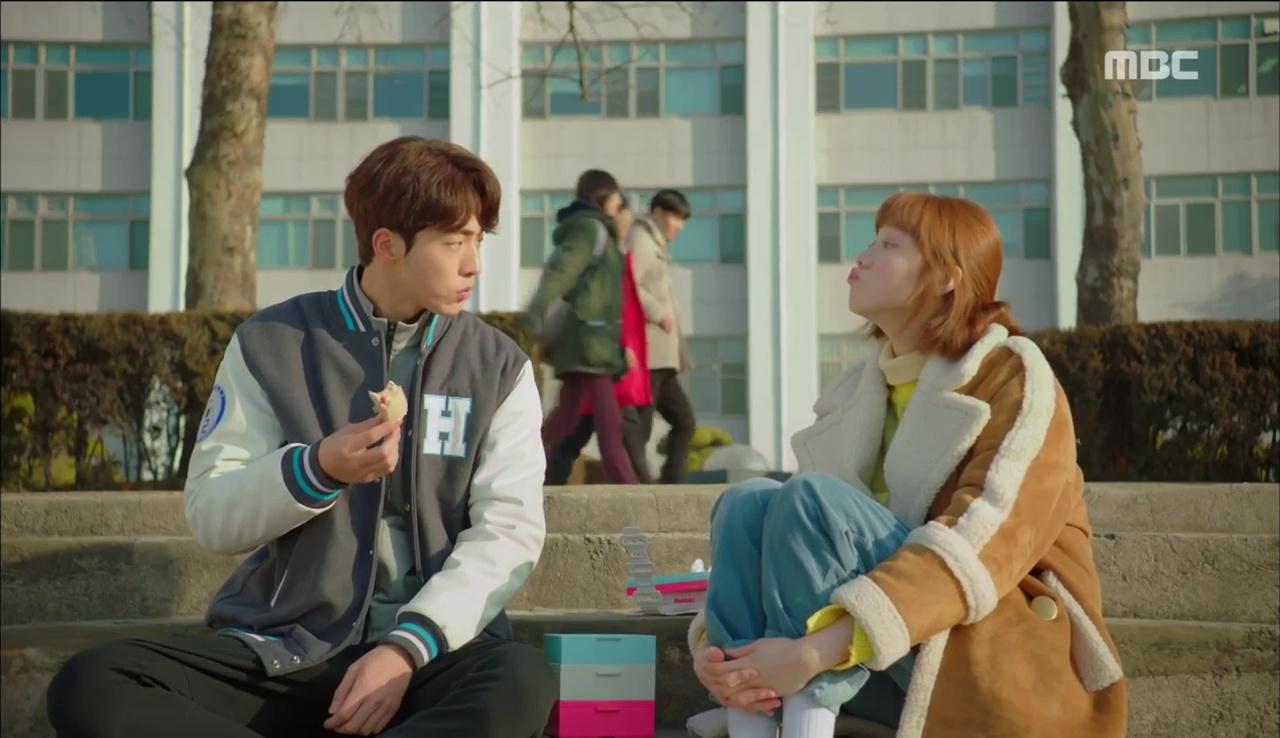 """""""Tiên Nữ Cử Tạ"""": Nam Joo Hyuk nguyện cạo đầu để bớt đẹp trai vì Lee Sung Kyung - Ảnh 11."""