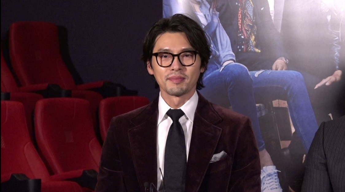 Hyun Bin và Nana của Vòng Xoáy Lừa Đảo gửi lời chào đến khán giả Việt - Ảnh 2.